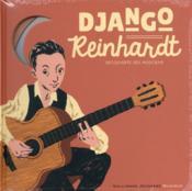 Django Reinhardt Livre-Cd - Couverture - Format classique
