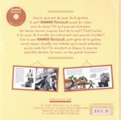 Django Reinhardt Livre-Cd - 4ème de couverture - Format classique