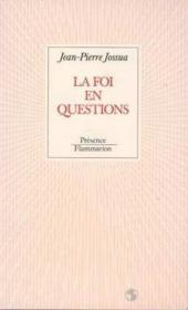 La foi en questions - Couverture - Format classique