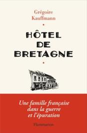 Hôtel de Bretagne - Couverture - Format classique