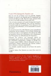 Hôtel de Bretagne - 4ème de couverture - Format classique