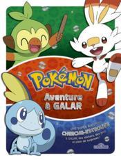 Cherche et trouve ; Pokémon ; aventure à Galar - Couverture - Format classique