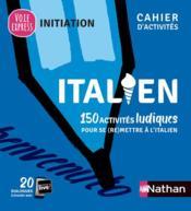 Italien ; cahier d'activités ; initiation (édition 2021) - Couverture - Format classique