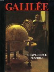 Galilee l'experience sensible - Couverture - Format classique