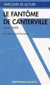 Le Fantome De Canterville - Parcours De Lecture - Couverture - Format classique