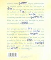 A fond le poisson - 4ème de couverture - Format classique