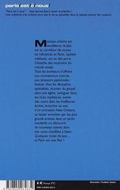 Le Jazz A Paris - 4ème de couverture - Format classique