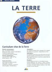 La terre - Intérieur - Format classique