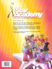 Star academy t.1 : la gueguerre des etoiles - 4ème de couverture - Format classique