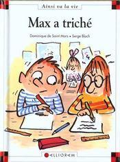 Max a triché - Intérieur - Format classique