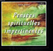Pensees Spirituelles Impertinentes - Couverture - Format classique