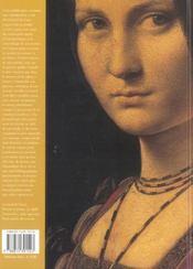 Leonard De Vinci - 4ème de couverture - Format classique