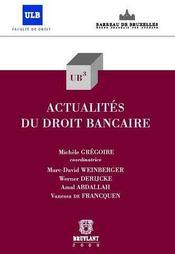 Actualités du droit bancaire t.20 - Couverture - Format classique