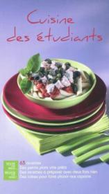 Cuisine des etudiants - Couverture - Format classique