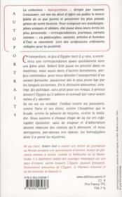 Champollion ; présenté par Robert Solé - 4ème de couverture - Format classique