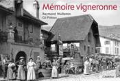 Mémoire vigneronne - Couverture - Format classique
