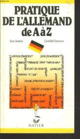 Pratique De L'Allemand =H512 - Couverture - Format classique