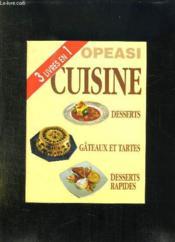 Desserts, gâteaux et tartes, desserts rapides - Couverture - Format classique