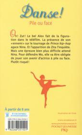 Danse ! T.28 ; pile ou face - 4ème de couverture - Format classique