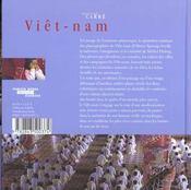 Viêt-Nam - 4ème de couverture - Format classique