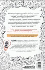 Le leader positif ; psychologie positive et neurosciences : les nouvelles clés du dirigeant - 4ème de couverture - Format classique