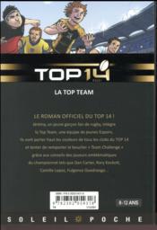Top 14 T.1 ; la top team - 4ème de couverture - Format classique