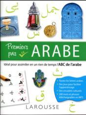 Premiers pas en arabe - Couverture - Format classique