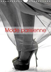 Mode parisienne (calendrier mural 2021 din a4 vertical) - les coulisses d'un defile de mode (calendr - Couverture - Format classique