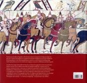 La tapisserie de Bayeux - 4ème de couverture - Format classique