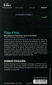Piège à loup - 4ème de couverture - Format classique