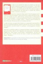Introduction Generale Au Droit - 4ème de couverture - Format classique