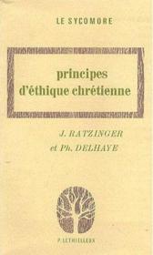 Principes d'ethique chretienne - Couverture - Format classique