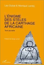 L'énigme des stèles de la Carthage africaine ; tanit plurielle - Intérieur - Format classique