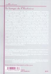 Politiques du passe. usages politiques du passe dans la france contemporaine - 4ème de couverture - Format classique