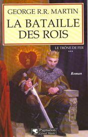 Le trône de fer T.3 ; la bataille des rois - Intérieur - Format classique