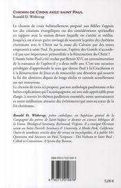Chemin de croix avec Saint Paul - 4ème de couverture - Format classique