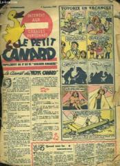 Le Petit Canard N° 66 Du 7 Septembre 1947. Le Carnet Du Petit Canard. - Couverture - Format classique