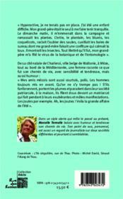 L'insolente ; le chemin de vie d'une journaliste de Charelroi à Mèze - 4ème de couverture - Format classique