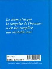 Bonheur Des Chiens - 4ème de couverture - Format classique