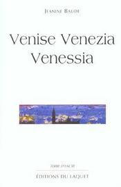 Venise Venezia Venessia - Intérieur - Format classique