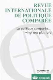 Revue Internationale De Politique Comparee N.2014/2 - Couverture - Format classique