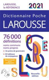 Dictionnaire Larousse poche (édition 2021) - Couverture - Format classique
