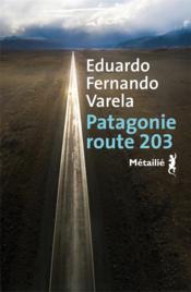 Patagonie, route 203 - Couverture - Format classique