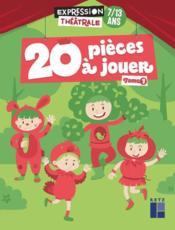 20 pièces à jouer t.1 ; 7/13 ans (édition 2020) - Couverture - Format classique