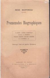 Promenades biographiques - Couverture - Format classique