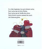 La veritable histoire de la souris verte - 4ème de couverture - Format classique