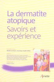 La dermatite atopique savoirs et experience - Intérieur - Format classique
