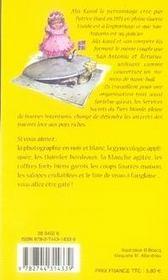 Alix karol t.1 ; des égouts et des couleurs - 4ème de couverture - Format classique