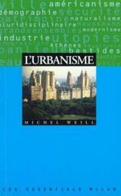 L'urbanisme - Couverture - Format classique