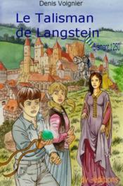 Le talisman de Langstein - Couverture - Format classique